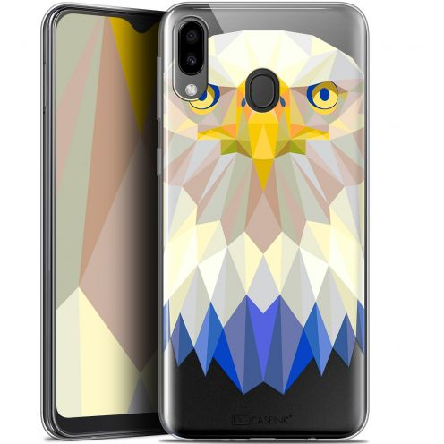 "Coque Gel Samsung Galaxy M20 (6.3"") Extra Fine Polygon Animals - Aigle"