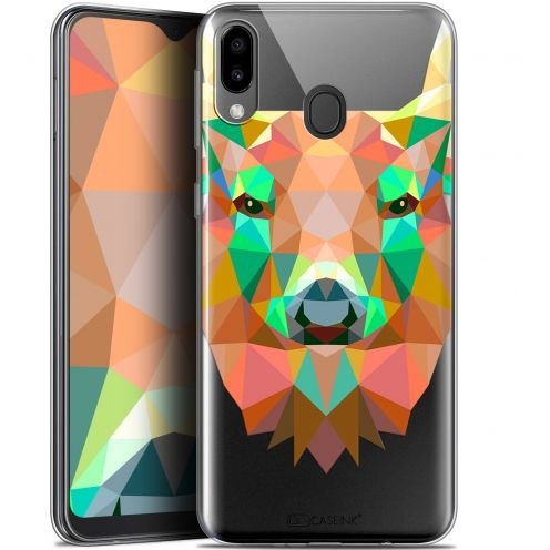 "Coque Gel Samsung Galaxy M20 (6.3"") Extra Fine Polygon Animals - Cerf"