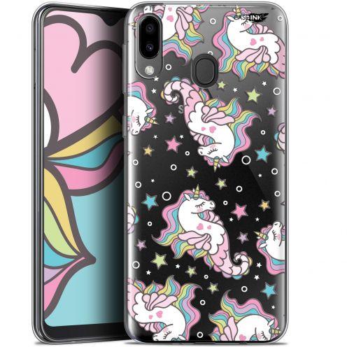 "Coque Gel Samsung Galaxy M20 (6.3"") Extra Fine Motif - Licorne Dormante"