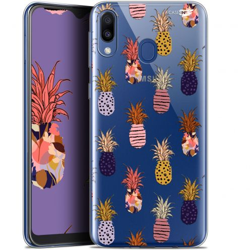 "Coque Gel Samsung Galaxy M20 (6.3"") Extra Fine Motif - Ananas Gold"