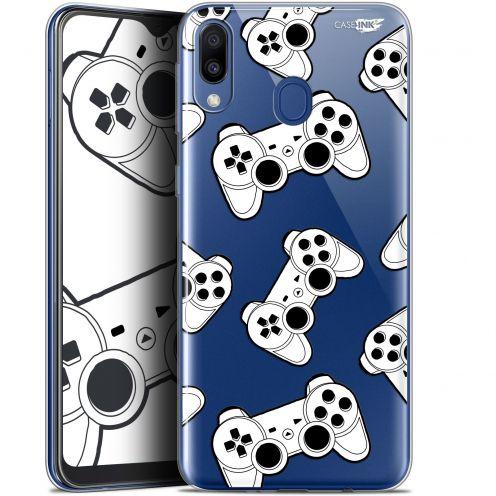 "Coque Gel Samsung Galaxy M20 (6.3"") Extra Fine Motif - Game Play Joysticks"
