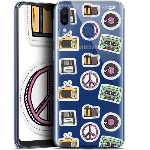 "Coque Gel Samsung Galaxy M20 (6.3"") Extra Fine Motif - Vintage Stickers"