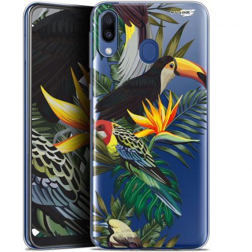 "Coque Gel Samsung Galaxy M20 (6.3"") Extra Fine Motif - Toucan Tropical"