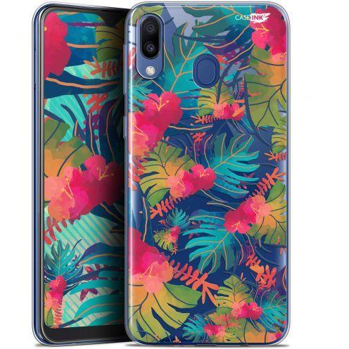 "Coque Gel Samsung Galaxy M20 (6.3"") Extra Fine Motif - Couleurs des Tropiques"