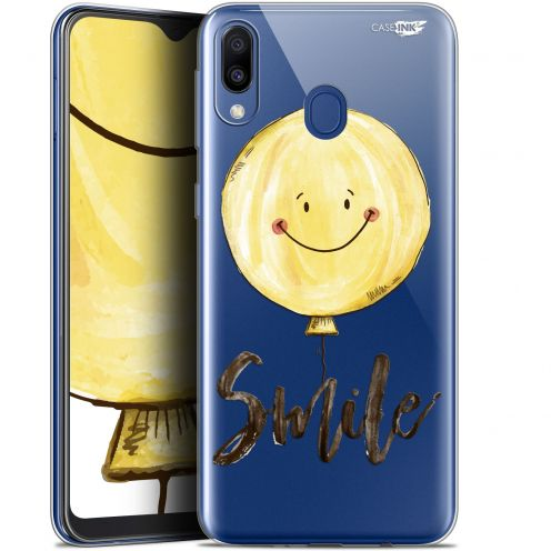 "Coque Gel Samsung Galaxy M20 (6.3"") Extra Fine Motif - Smile Baloon"
