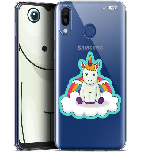 "Coque Gel Samsung Galaxy M20 (6.3"") Extra Fine Motif - Bébé Licorne"
