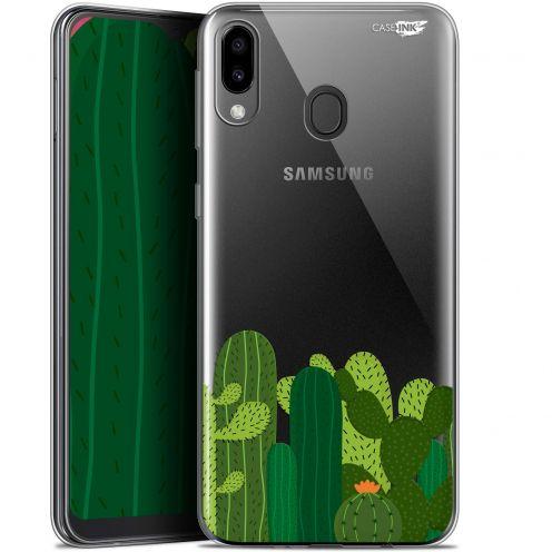 """Coque Gel Samsung Galaxy M20 (6.3"""") Extra Fine Motif - Cactus"""