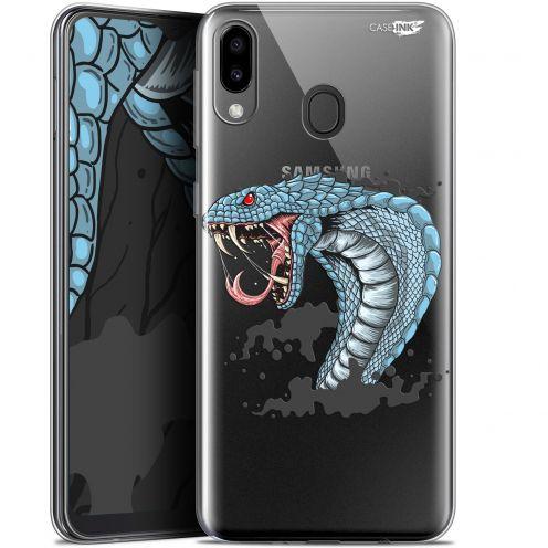"""Coque Gel Samsung Galaxy M20 (6.3"""") Extra Fine Motif - Cobra Draw"""