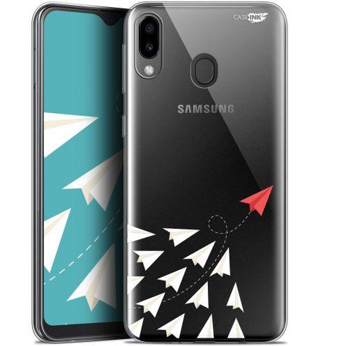 "Coque Gel Samsung Galaxy M20 (6.3"") Extra Fine Motif - Papier Volant"