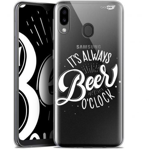 "Coque Gel Samsung Galaxy M20 (6.3"") Extra Fine Motif - Its Beer O'Clock"