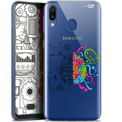 "Coque Gel Samsung Galaxy M20 (6.3"") Extra Fine Motif -  Le Cerveau"