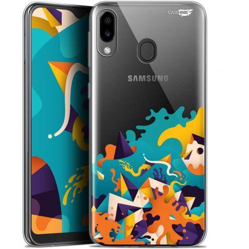 "Coque Gel Samsung Galaxy M20 (6.3"") Extra Fine Motif -  Les Vagues"