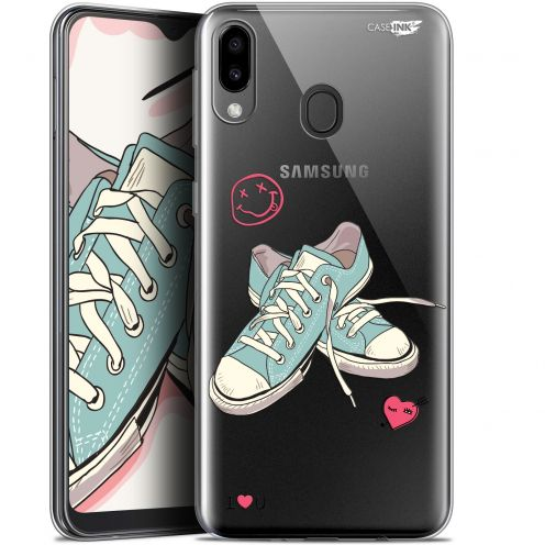 "Coque Gel Samsung Galaxy M20 (6.3"") Extra Fine Motif -  Mes Sneakers d'Amour"