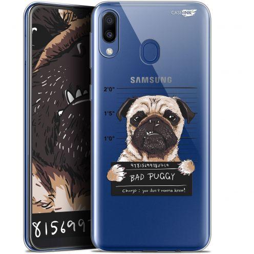 "Coque Gel Samsung Galaxy M20 (6.3"") Extra Fine Motif -  Beware The Puggy Dog"