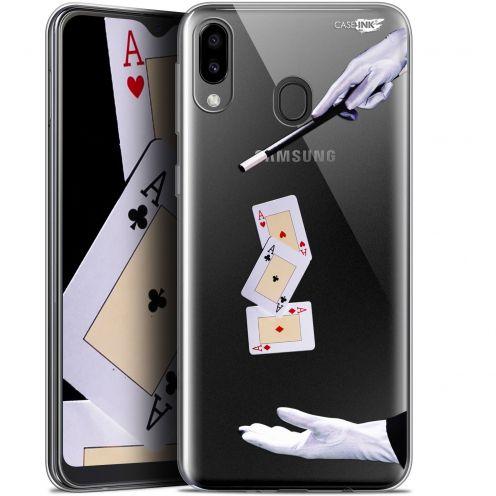 """Coque Gel Samsung Galaxy M20 (6.3"""") Extra Fine Motif -  Cartes Magiques"""