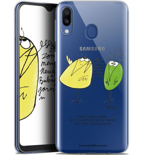 "Coque Gel Samsung Galaxy M20 (6.3"") Extra Fine Les Shadoks® - Le Dialogue"