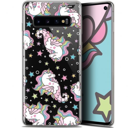 """Coque Gel Samsung Galaxy S10 (6.1"""") Extra Fine Motif - Licorne Dormante"""