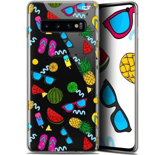 "Coque Gel Samsung Galaxy S10 (6.1"") Extra Fine Motif - Summers"