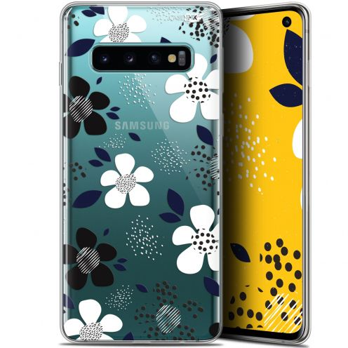 """Coque Gel Samsung Galaxy S10 (6.1"""") Extra Fine Motif -  Marimeko Style"""