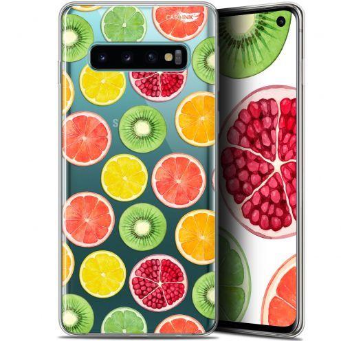 """Coque Gel Samsung Galaxy S10 (6.1"""") Extra Fine Motif - Fruity Fresh"""
