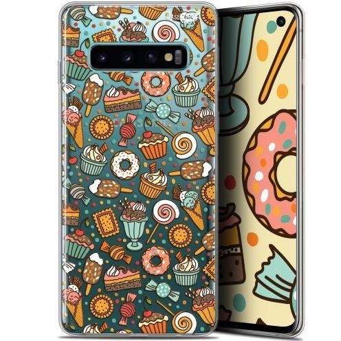 "Coque Gel Samsung Galaxy S10 (6.1"") Extra Fine Motif -  Bonbons"