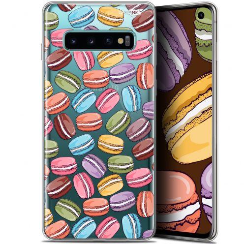 "Coque Gel Samsung Galaxy S10 (6.1"") Extra Fine Motif -  Macarons"