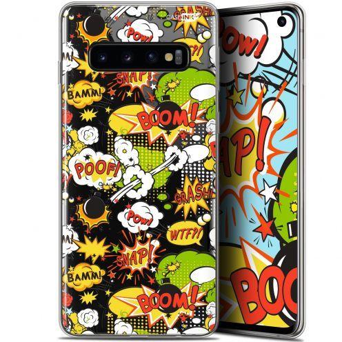 "Coque Gel Samsung Galaxy S10 (6.1"") Extra Fine Motif - Bim Bam Boom"