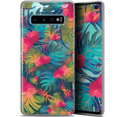 "Coque Gel Samsung Galaxy S10 (6.1"") Extra Fine Motif - Couleurs des Tropiques"