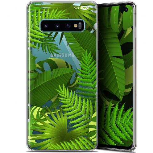 """Coque Gel Samsung Galaxy S10 (6.1"""") Extra Fine Motif - Plantes des Tropiques"""