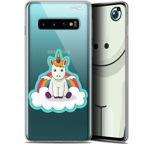 "Coque Gel Samsung Galaxy S10 (6.1"") Extra Fine Motif - Bébé Licorne"