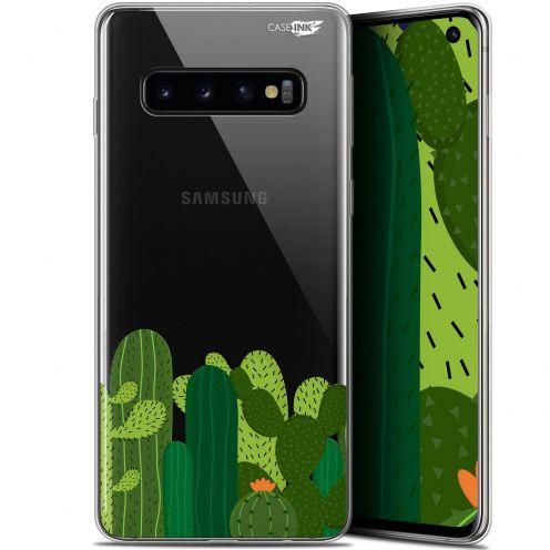 """Coque Gel Samsung Galaxy S10 (6.1"""") Extra Fine Motif - Cactus"""