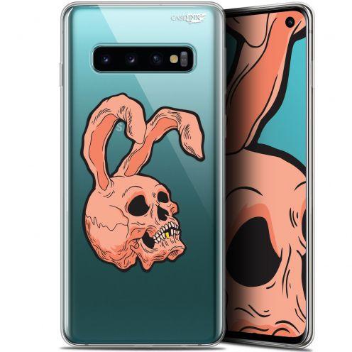 "Coque Gel Samsung Galaxy S10 (6.1"") Extra Fine Motif -  Rabbit Skull"