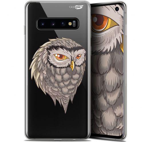 """Coque Gel Samsung Galaxy S10 (6.1"""") Extra Fine Motif - Hibou Draw"""