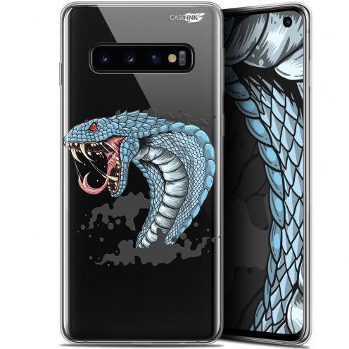 "Coque Gel Samsung Galaxy S10 (6.1"") Extra Fine Motif -  Cobra Draw"