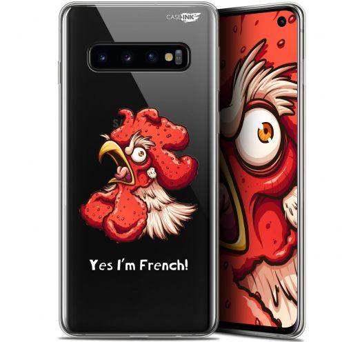 """Coque Gel Samsung Galaxy S10 (6.1"""") Extra Fine Motif -  I'm French Coq"""