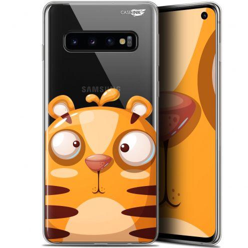 """Coque Gel Samsung Galaxy S10 (6.1"""") Extra Fine Motif - Cartoon Tiger"""