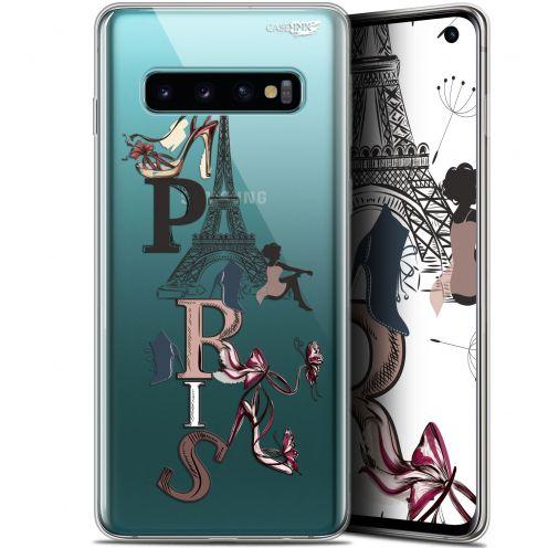 "Coque Gel Samsung Galaxy S10 (6.1"") Extra Fine Motif - Stylish Paris"