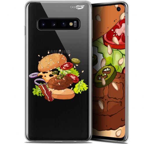 "Coque Gel Samsung Galaxy S10 (6.1"") Extra Fine Motif - Splash Burger"