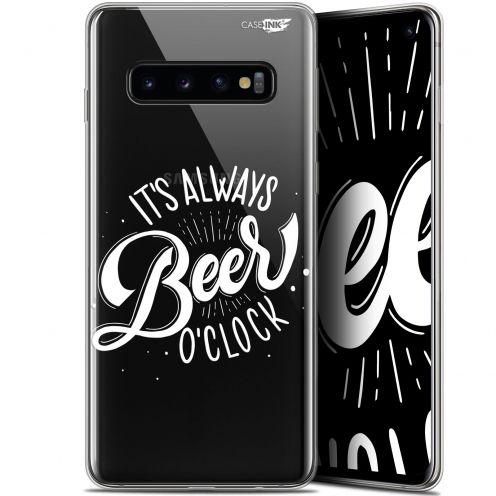"""Coque Gel Samsung Galaxy S10 (6.1"""") Extra Fine Motif - Its Beer O'Clock"""