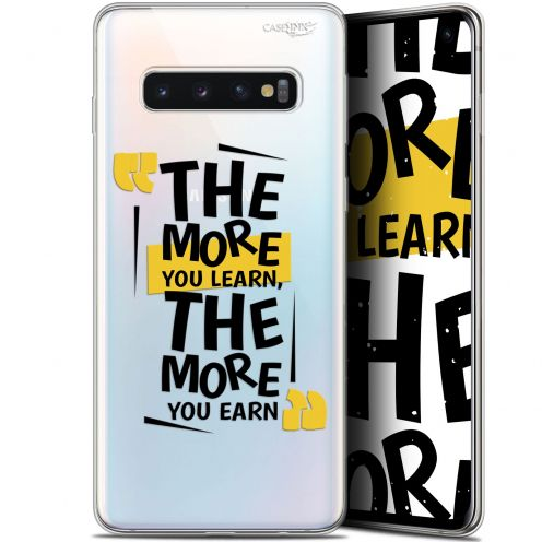 """Coque Gel Samsung Galaxy S10 (6.1"""") Extra Fine Motif - The More You Learn"""