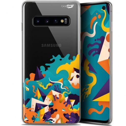 "Coque Gel Samsung Galaxy S10 (6.1"") Extra Fine Motif - Les Vagues"
