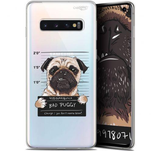 "Coque Gel Samsung Galaxy S10 (6.1"") Extra Fine Motif - Beware The Puggy Dog"