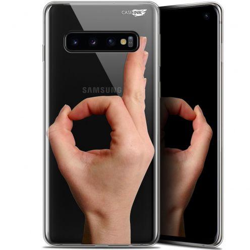 "Coque Gel Samsung Galaxy S10 (6.1"") Extra Fine Motif - Le Jeu du Rond"