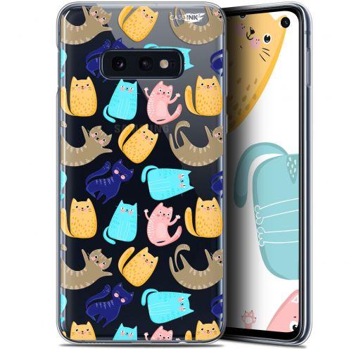 "Coque Gel Samsung Galaxy S10e (5.8"") Extra Fine Motif - Chat Danse"