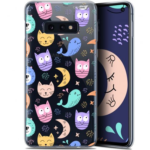 "Coque Gel Samsung Galaxy S10e (5.8"") Extra Fine Motif -  Chat Hibou"