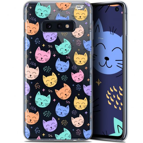 "Coque Gel Samsung Galaxy S10e (5.8"") Extra Fine Motif - Chat Dormant"