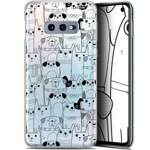 "Coque Gel Samsung Galaxy S10e (5.8"") Extra Fine Motif - Chien Noir"