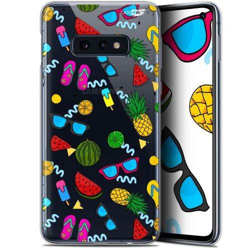 "Coque Gel Samsung Galaxy S10e (5.8"") Extra Fine Motif -  Summers"