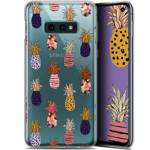 """Coque Gel Samsung Galaxy S10e (5.8"""") Extra Fine Motif -  Ananas Gold"""