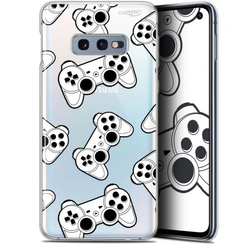 "Coque Gel Samsung Galaxy S10e (5.8"") Extra Fine Motif - Game Play Joysticks"